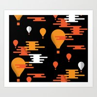 Travel - Hot Air Art Print