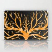 Ghostly Vines (Flaming O… Laptop & iPad Skin