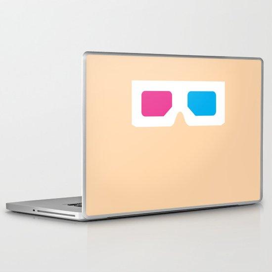 Glasses 5 Laptop & iPad Skin
