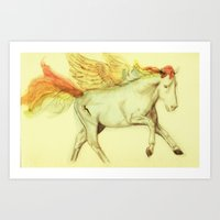 Rainbow Dash Art Print