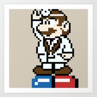 Dr.Mario Art Print