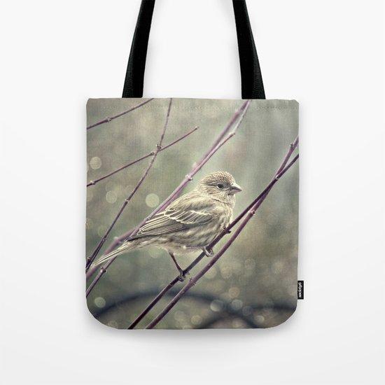 House Finch _Carpodacus mexicanus_ Tote Bag