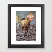 Collage #24 Framed Art Print