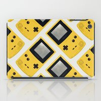 Gameboy Color: Yellow (Pattern) iPad Case
