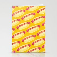 Hot Dogs! Stationery Cards