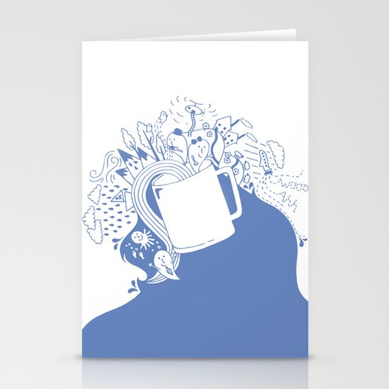 Doodles Stationery Card