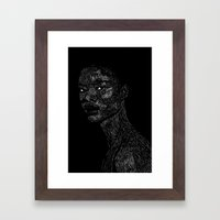 Black Girl #2 Framed Art Print