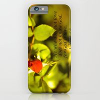 iPhone & iPod Case featuring His Love by Bren