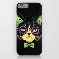 Sugar skull cat iPhone 6 Slim Case