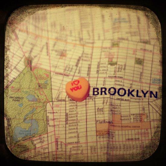 I Love You Brooklyn Art Print