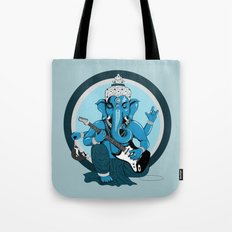 Ganesha Rocks ! (v2) Tote Bag