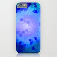 iPhone & iPod Case featuring Aqua Stained by Ashleigh