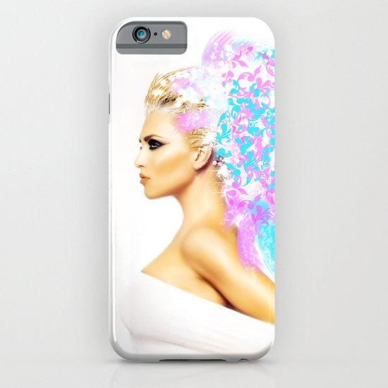 THE BRIGHT SIDE OF AN ANGEL iPhone & iPod Case