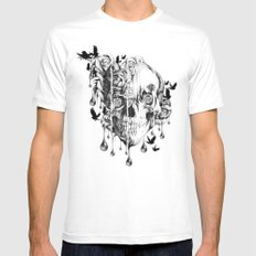 Beneath the Surface Mens Fitted Tee White SMALL