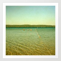 Bathing Beauties Art Print