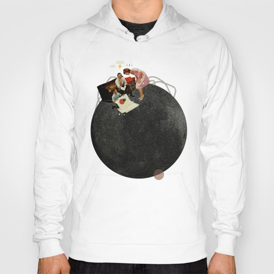 Life on Earth   Collage Hoody