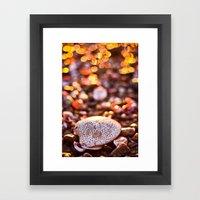 Bokeh Sprinkles Framed Art Print