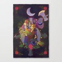 Sleepy Hollow - Abbie An… Canvas Print
