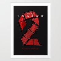 SCREAM 2 (Alternative Mo… Art Print