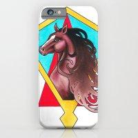 art deco horse iPhone 6 Slim Case