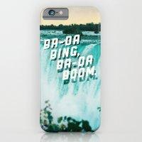 iPhone & iPod Case featuring Ba-da Bing, Ba-da Boom. by Grafiskanstalt