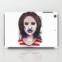 Graphite Girl iPad Case