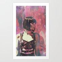 Rebelle Rogue Art Print