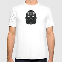 Imperial Pilot Mens Fitted Tee White SMALL