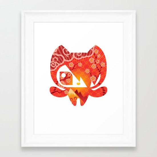 Takome Framed Art Print