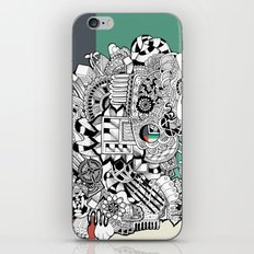 Orden inverso iPhone & iPod Skin