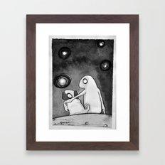 Omino Luna Framed Art Print