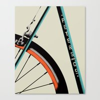 Bike Portrait 1 Canvas Print