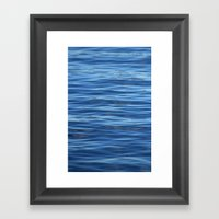 Sea , Only Sea 075 Framed Art Print