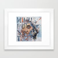 Listen to the Mocking Bird Framed Art Print
