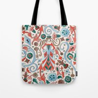 Queen Of Diamonds Tote Bag