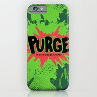iPhone & iPod Case featuring purge by Mikuloctopus