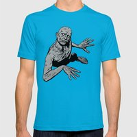 Stone Mens Fitted Tee Teal SMALL