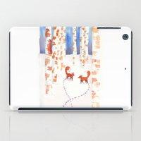 Footsteps iPad Case