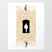 Doctor Who - Eternity Art Print