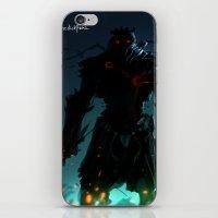 Dark Flare iPhone & iPod Skin