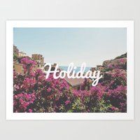 Holiday Art Print