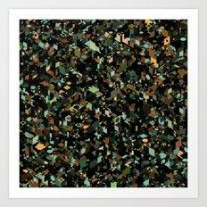 Panelscape: colours from KARMA CHAMELEON 3 Art Print