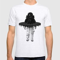Through The Black Hole Mens Fitted Tee Ash Grey SMALL