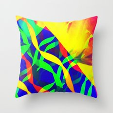 Eruption Throw Pillow