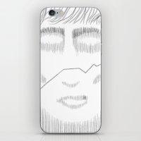 White Face 2 iPhone & iPod Skin