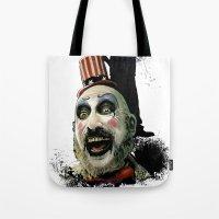 Captain Spaulding: Monster Madness Series Tote Bag