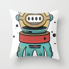 D-Nat boy Throw Pillow