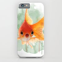 iPhone & iPod Case featuring Goldfish by Sarah Sutherland