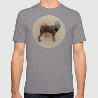 Two dogs and BOB Mens Fitted Tee Tri-Grey SMALL