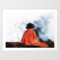 Shock Blanket- BBC's Sherlock Art Print